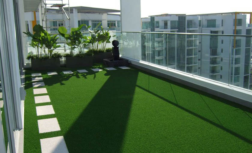 Artificial Gr For Balcony Deck And